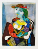 Pablo Picasso MARIE THERESE WALTER Estate Signed Limited Edition Small Giclee