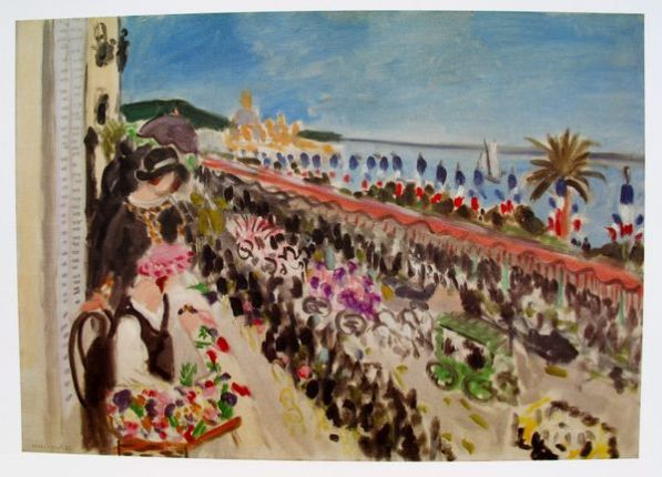 Henri Matisse FESTIVAL OF FLOWERS, NICE Plate Signed Lithograph