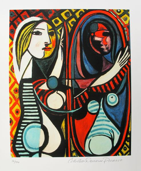 Pablo Picasso GIRL BEFORE A MIRROR Estate Signed Limited Edition Small Giclee