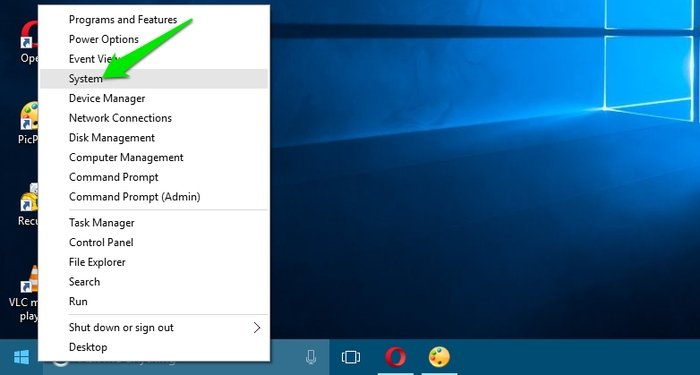 Cara menonaktifkan Animasi Menu Windows 10