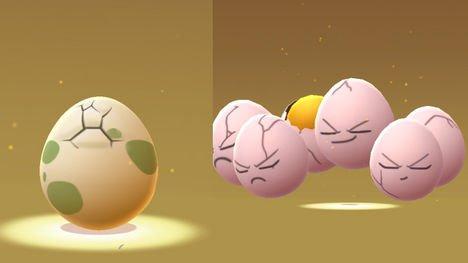 Fungsi dari Eggs di Pokemon GO