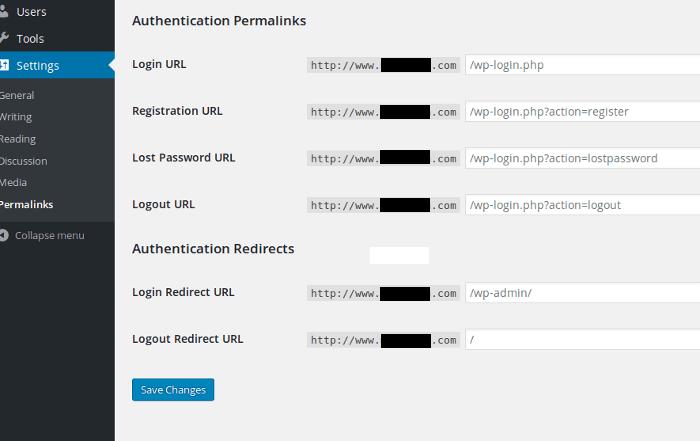 Cara Cepat Mengubah Login URL WordPress