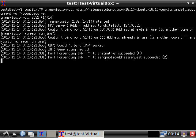 Cara Download Torrents dari Command Line di Ubuntu