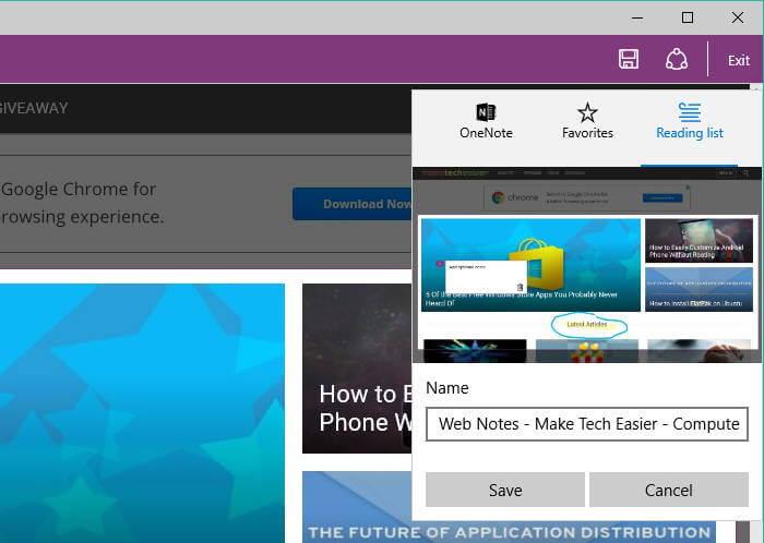 Cara Mengambil Screenshot Webpage di Microsoft Edge