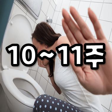 임신 10주, 본격적인 몸의 변화