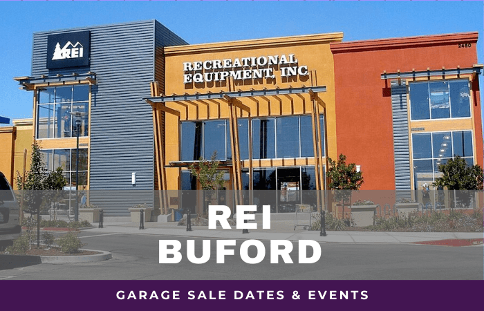 REI Buford Garage Sale Dates, rei garage sale buford georgia