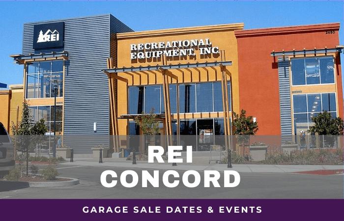 REI Concord Garage Sale Dates, rei garage sale concord california