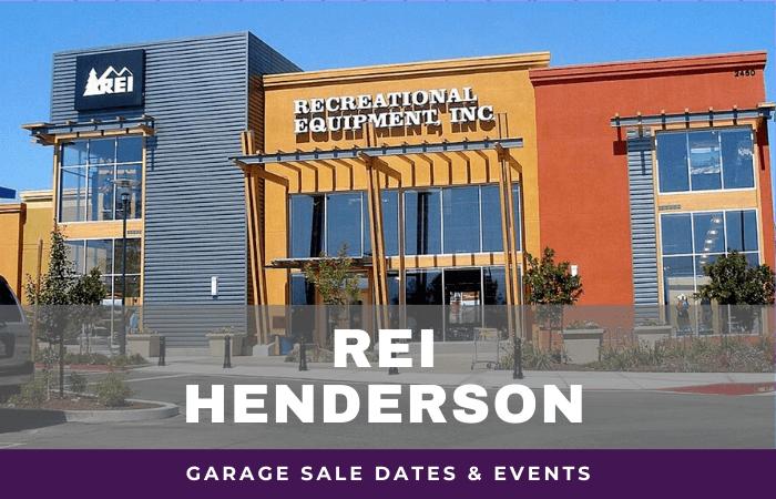 REI Henderson Garage Sale Dates, rei garage sale henderson nevada