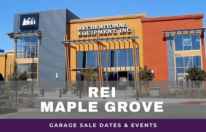 REI Maple Grove Garage Sale Dates, rei garage sale maple grove minnesota