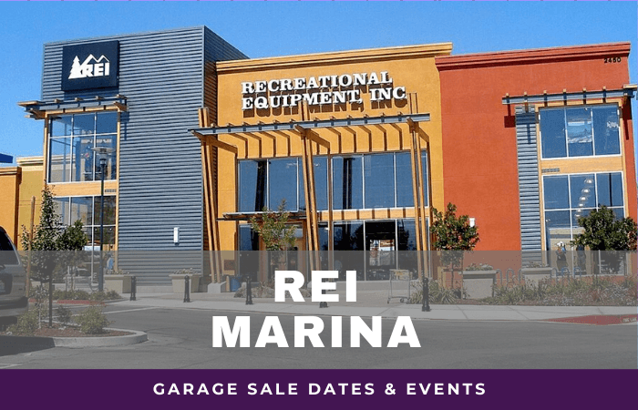 REI Marina Garage Sale Dates, rei garage sale marina california