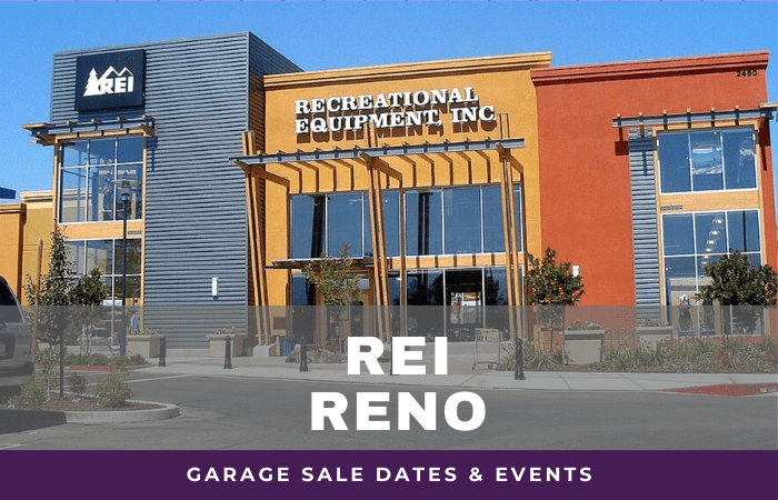 REI Reno Garage Sale Dates, rei garage sale reno nevada