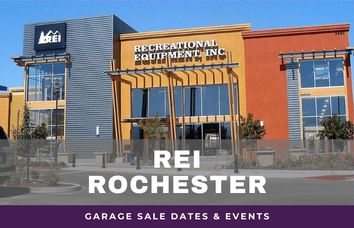 REI Rochester Garage Sale Dates, rei garage sale rochester new york