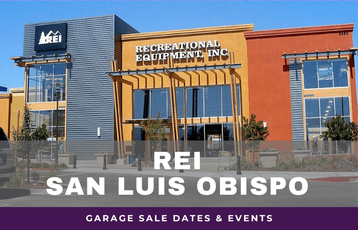 REI San Luis Obispo Garage Sale Dates, rei garage sale san luis obispo california
