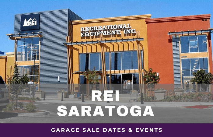 REI Saratoga Garage Sale Dates, rei garage sale saratoga california