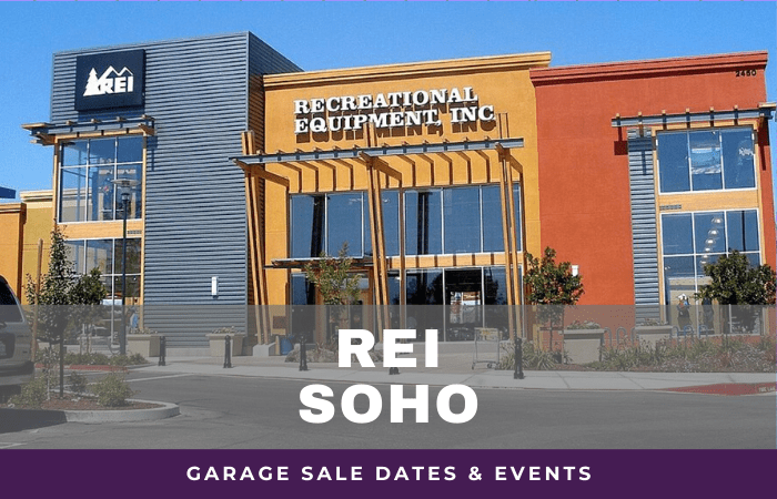 REI SoHo Garage Sale Dates, rei garage sale soho new york