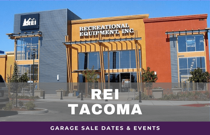 REI Tacoma Garage Sale Dates, rei garage sale tacoma washington