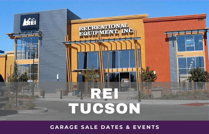 REI Tucson Garage Sale Dates, rei garage sale tucson arizona