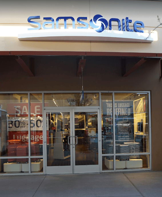 Samsonite outlet factory store