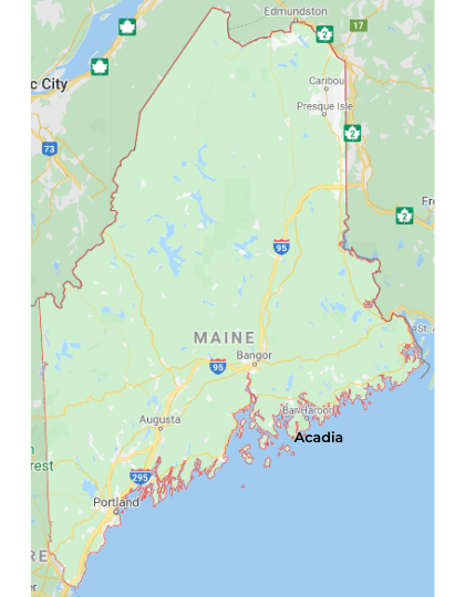 Best National Parks in Maine, Maine National Parks, National Parks Maine, how many national parks in Maine, Maine national parks map, map of Maine National parks, list of national parks in Maine