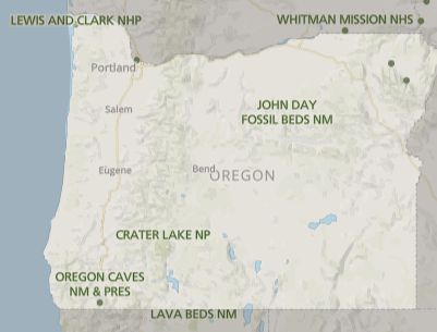 Best National Parks in Oregon, Oregon National Parks, National Parks Oregon, how many national parks in Oregon, Oregon national parks map, map of Oregon National parks, list of national parks in Oregon