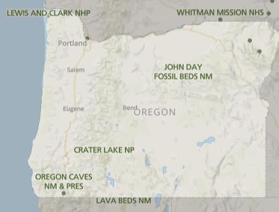 Best National Parks in Oregon, Oregon National Parks, National Parks Oregon, how many national parks in Oregon, Oregon national parks map, map of Oregon National parks, list of national parks in Oregon