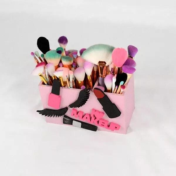 bella glitz makeup brush holder