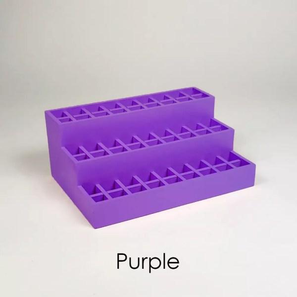 Mini Lipstick Organizer in Purple