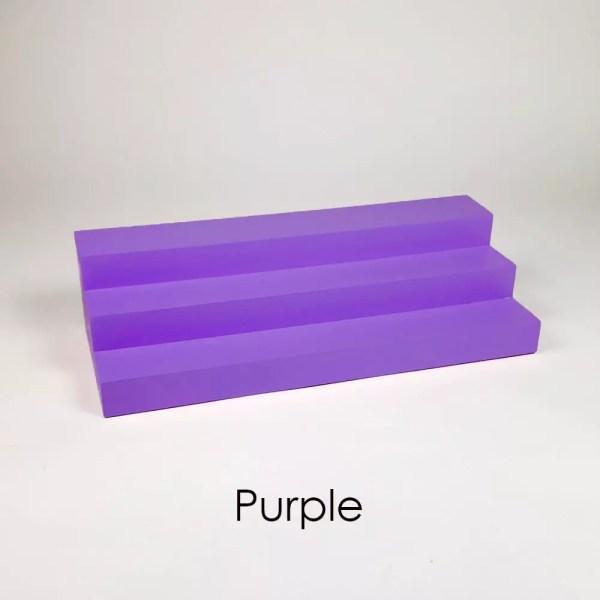 Large Perfume Display Organizer in Purple