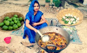 Village cooking – India
