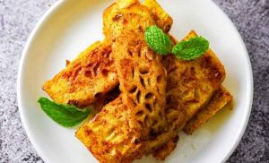 GRILLED PINEAPPLE WITH CINNAMON