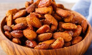 Honey Mustard Roasted Almonds – Easy Protein-Packed Snack