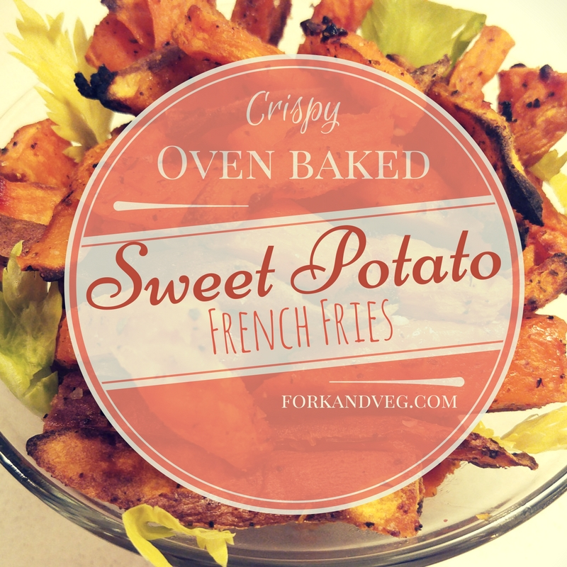 Oven Baked & Crispy – Spicy Cajun Sweet Potato Fries