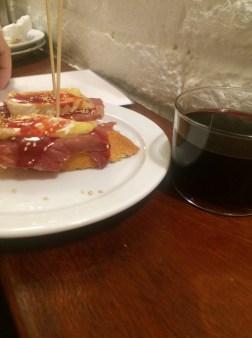 Pinchos & good wine, Gastarea, Barcelona