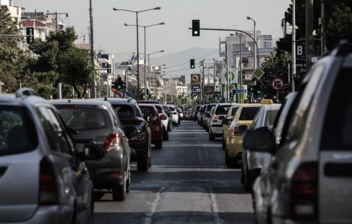 Κίνηση-στους-δρόμους:-Στο-«κόκκινο»-ο-Κηφισός-–-Πού-υπάρχουν-προβλήματα
