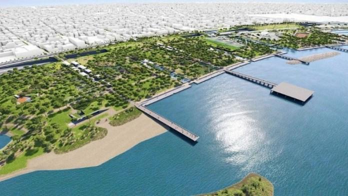 Το-σχέδιο-ανάπλασης-του-παραλιακού-μετώπου:Ποδηλατόδρομος-22-χλμ.-από-ΣΕΦ-προς-Σούνιο