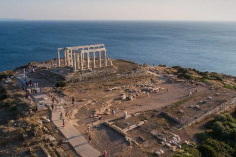 Ο-ναός-του-Ποσειδώνα-(Σούνιο)-ανάμεσα-στους-αρχαιολογικούς-χώρους-που-θα-φωτογραφηθούν…