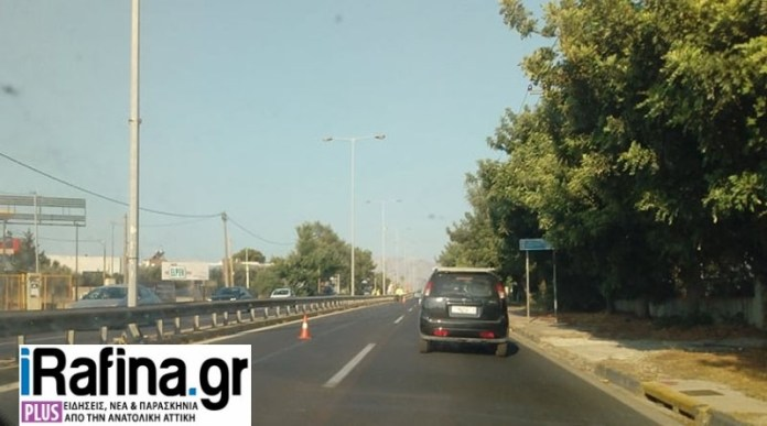 Πικέρμι:-Προσοχή!-Κλειστή-η-μία-λωρίδα-κυκλοφορίας-στο-ρεύμα-προς-Αθήνα-(φωτό)