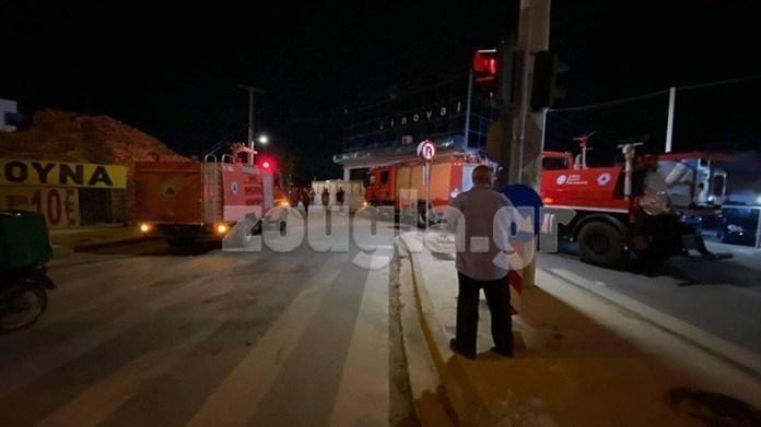 Έκρηξη-στα-γραφεία-εταιρείας-πετρελαιοειδών-στη-Βάρη-με-έναν-τραυματία