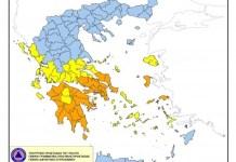 Χάρτη-Πρόβλεψης-Κινδύνου-Πυρκαγιάς-Τετάρτη-28-Ιουλίου-2021