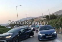 Καραμπόλα-με-τουλάχιστον-τρία-αυτοκίνητα-στη-λεωφόρο-Σουνίου!-(φωτό)