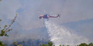 Φωτιά-στη-Μεγαλόπολη:-Μήνυμα-από-το-112-για-εκκένωση-της-κοινότητας-Λεοντάρι