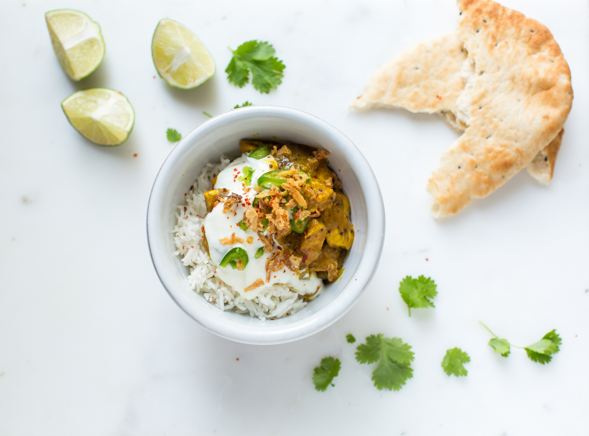 Chicken and Chickpea Curry - Forkful
