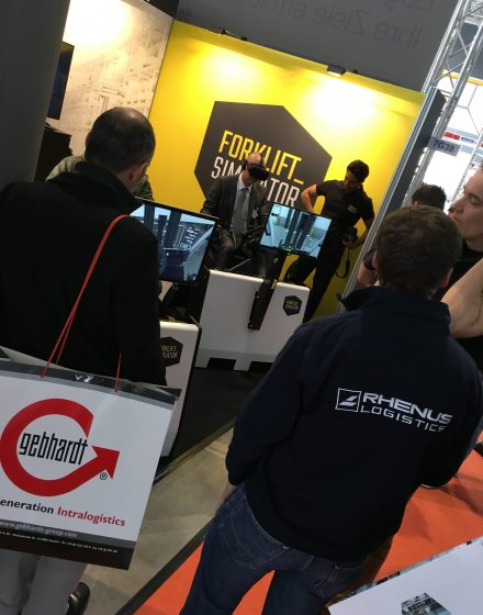 Forklift-Simulator at LogiMAT 2017