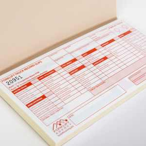 Pre-use Forklift Truck Check Inspection Pads