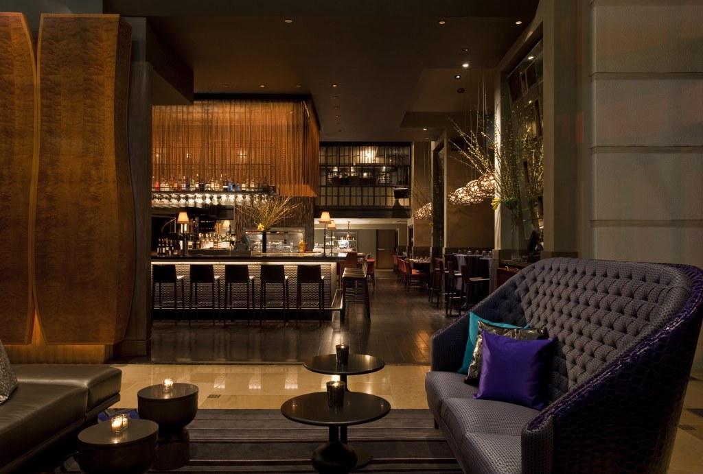 W Union Square - Living Room Night