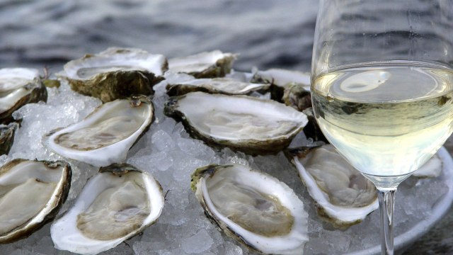 Oyster and Wine