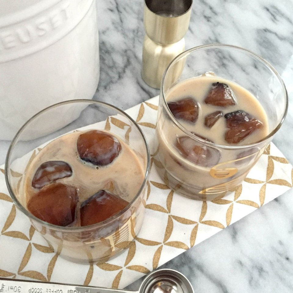 Spiked coffee cubes