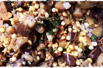 eggplant and corn relish