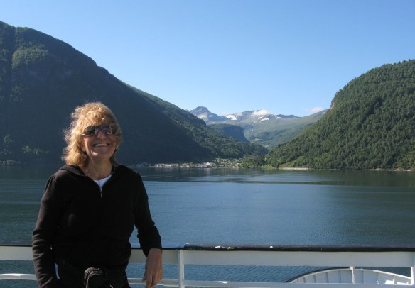 my idea of taking to the sea - a delightful cruise through the fjords