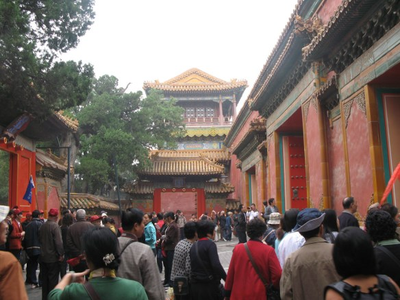 Crowds at Forbidden City
